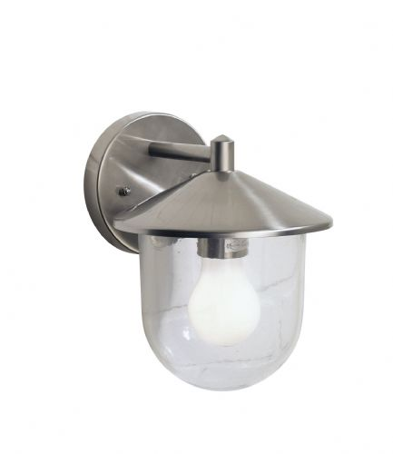 Poole 1-light Stainless Steel Double Insulated Outdoor Wall Light (Double Insulated) BXPOO1544-17